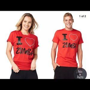 I LOVE ZUMBA RED xs/s